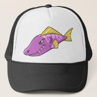 Casquette fâché moyen de poissons