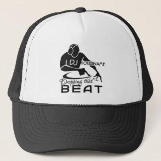 Casquette fait sur commande du DJ - choisissez la
