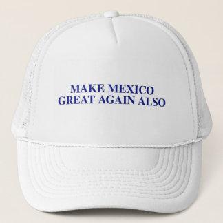 Casquette Faites au Mexique le grand encore également
