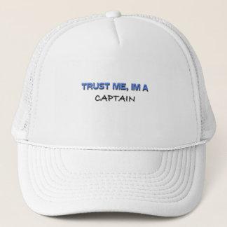 Casquette Faites confiance que je je suis un capitaine