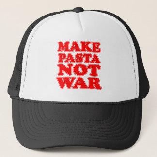Casquette Faites la guerre de pâtes pas