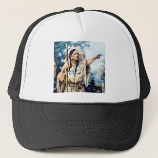 Casquette femme indienne de squaw