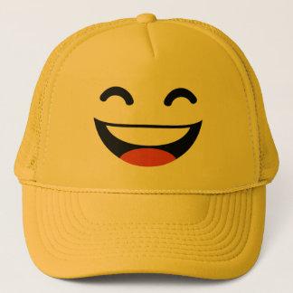 Casquette Fermez vos yeux riant l'emoji