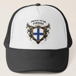 Casquette Fier d'être finlandais