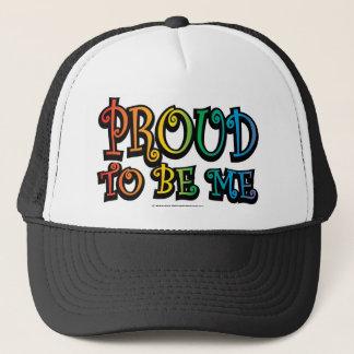 Casquette Fier d'être je LGBT