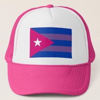 Casquette Fierté cubaine LGBT bisexuel de Bi
