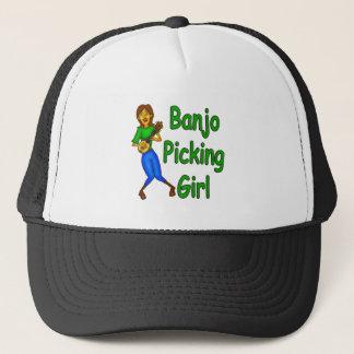 Casquette Fille de cueillette de banjo