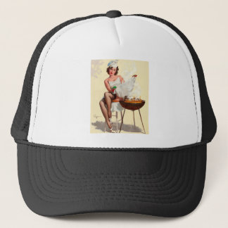 Casquette Fille de Pin- de barbecue