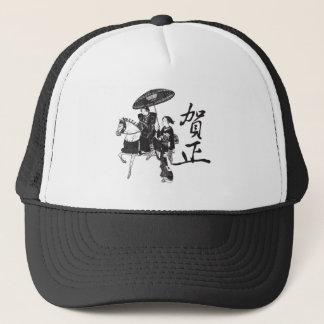 Casquette Fille et cheval de geisha