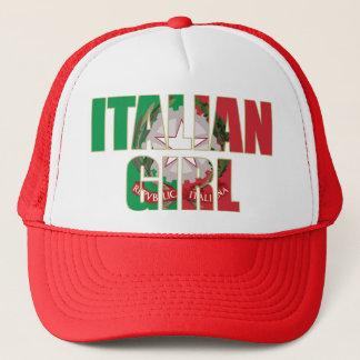 Casquette Fille italienne