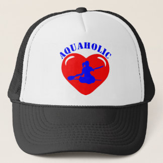 Casquette Fille Kayaking d'amour