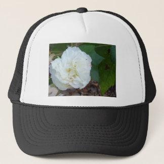 Casquette fleur blanche de mutabilis de ketmie