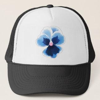 Casquette Fleur bleue 201711c de pensée