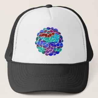 Casquette Fleur colorée