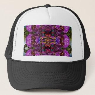 Casquette Fleur psychédélique de fleur