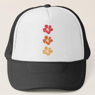 Casquette Fleurs colorées de ketmie
