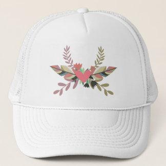 Casquette floral de camionneur du coeur | de Boho