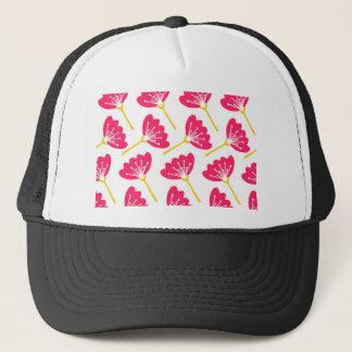 Casquette Floral rose moderne