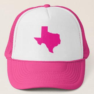 Casquette Forme rose-foncé du Texas