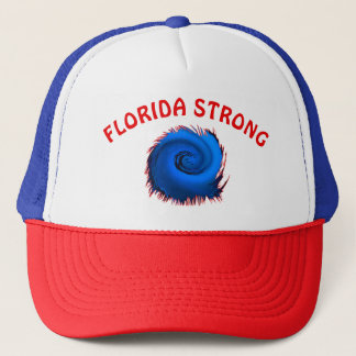 Casquette fort blanc et bleu rouge de la Floride,