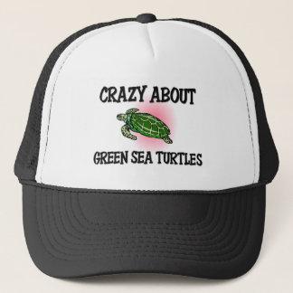 Casquette Fou au sujet des tortues de mer verte