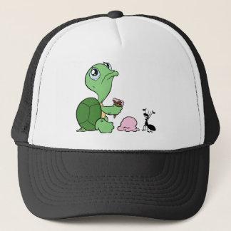 Casquette Fourmi heureuse de tortue triste