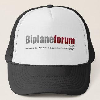 Casquette frais de forum de biplan