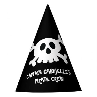 Casquette frais de partie de pirate de Crossbone Chapeaux De Fètes