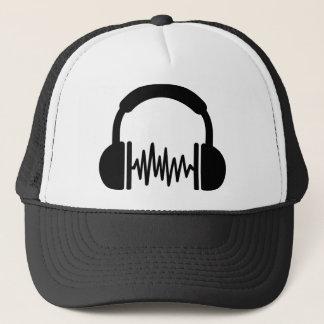 Casquette Fréquence DJ d'écouteurs