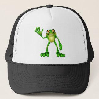 Casquette Froggie la grenouille de ondulation de bande