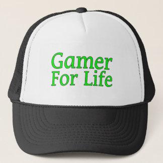 Casquette Gamer pendant la vie