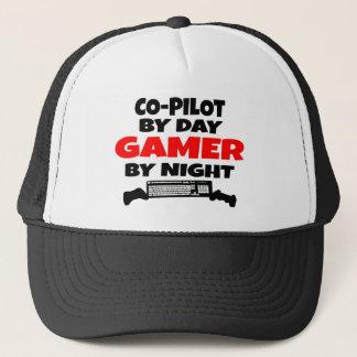 Casquette Gamer pilote de Co