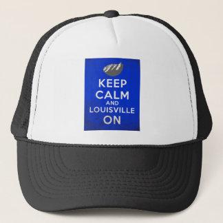 Casquette Gardez le calme et Louisville dessus, Louisville,