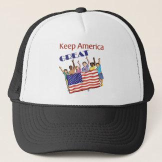 Casquette Gardez le grand défilé adulte de l'Amérique