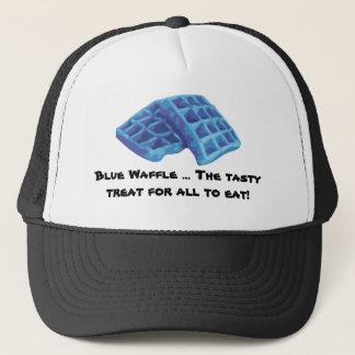 Casquette Gaufre bleue - festin savoureux