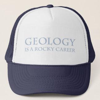 Casquette Géologie : Carrière rocheuse