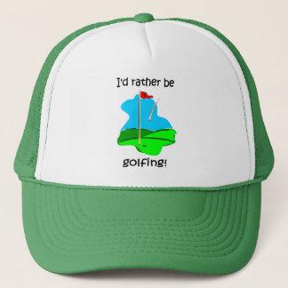 Casquette Golf drôle