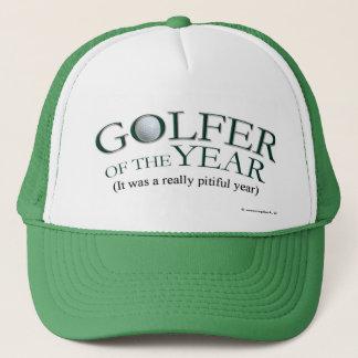 Casquette Golfeur de l'année
