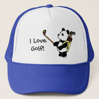 Casquette Golfeur de panda de Kawaii