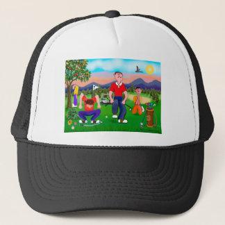 Casquette Golfeurs de bande dessinée - pour l'amour du golf