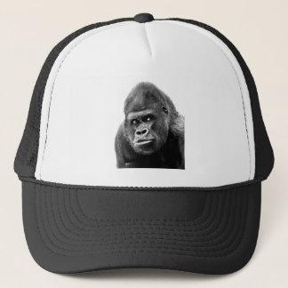 Casquette Gorille blanc noir
