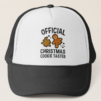 Casquette Goûteur officiel de biscuit de Noël