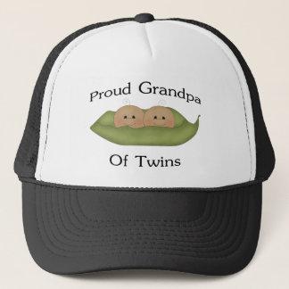 Casquette Grand-papa fier des jumeaux
