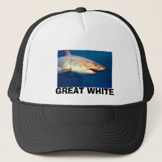 Casquette Grand requin blanc