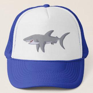 Casquette Grand requin blanc de bande dessinée