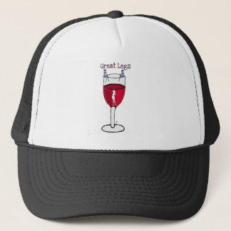 Casquette GRANDE copie de vin de JAMBES… par Jill