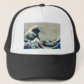 Casquette Grande vague de Katsushika Hokusai outre de