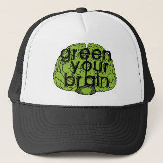 Casquette Green your brain