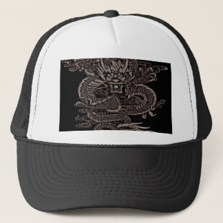 Casquette Gris épique de dragon