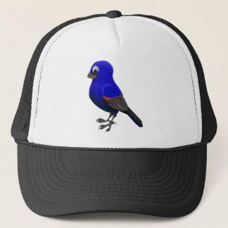 Casquette Gros-bec bleu